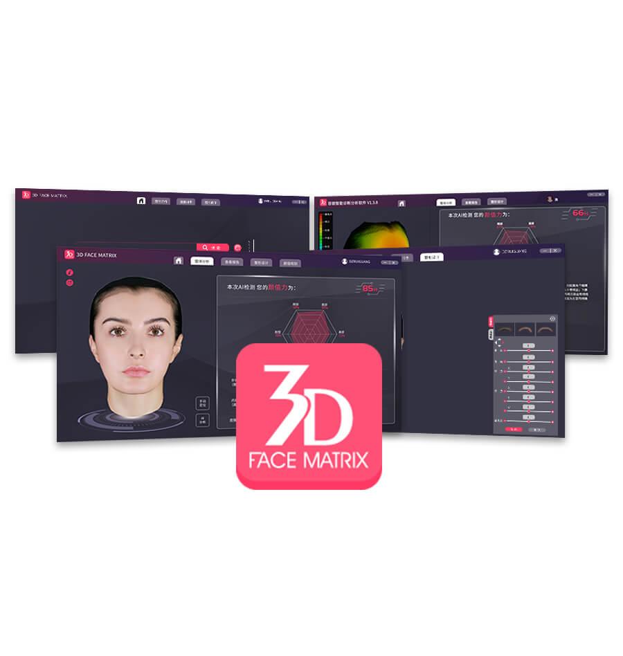 3D FACE MARTIX